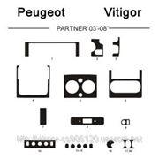 Peugeot PARTNER 03' - 08' Карбон, карбон+, алюминий фото