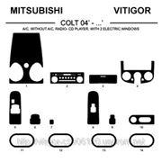 Mitsubishi COLT 04' - ... AC, WITHOUT AC, RADIO-CD PLAYER Карбон, карбон+, алюминий фото
