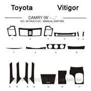 Totota CAMRY 06' - ... A/C, WITHOUT A/C, MANUAL SHIFTER Карбон, карбон+, алюминий фото