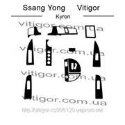 Ssang Young KYRON Карбон, карбон+, алюминий фото