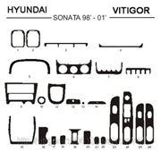 Hyundai SONATA 98' - 01' Карбон, карбон+, алюминий фото