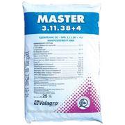 Комплексное удобрение Master(Мастер), 25кг, NPK 3.11.38+4 фото