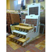Рекламная торговая стойка стенд для керамической плитки, ступеней, коньков фото