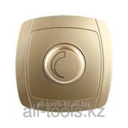 Диммер Светозар Акцент в сборе, цвет золотой металлик, ~800В Код:SV-54242-GM фото