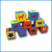 Дидактическое пособие - кубики Малыш фото