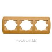 Рамка 501 227 Zirve (белый) 3 Артикул 25.239 фото