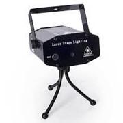 Проектор лазерный для цветомузыки laser stage lighting 106g фото