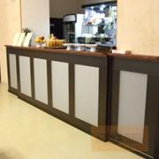 Барная стойка в кафе фото