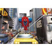 Детские фотообои на стену Человек-Паук Час Пик Komar 1-425 Spiderman Rush Hour фото