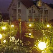 Освещение сада, цена, заказать, Киев фото