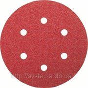 Шлифовальные диски на липучках BOSCH для эксцентриковых шлифмашин, Best for Wood, O 150 мм, 6 отв, 180, 50 шт. фото