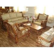 Мебель плетенная фото