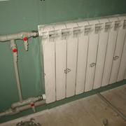 Установка радиатора отопления фото