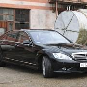 Прокат Мерседес W221 без водителя в Сочи фото
