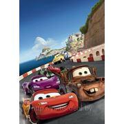 Фотообои Komar Disney для детской комнаты Cars Italy арт.1402 фото