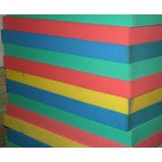 Поролон цветной листовой Пенополиуретан-ППУ (Р22) фото