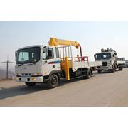 Манипулятор Hyundai Mega Truck 4x2 7т 2013г. фото