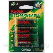 Аккумулятор KODAK HR6-4BL (2600 mAh) 4 штуки. фото