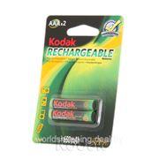 Аккумуляторы Kodak AAA HR03-2BL 650 mАh 2 шт. фото