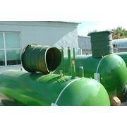 Резервуары для автономной газификации сжиженным газом (газгольдеры) объемом 4850 литров евростандарт адаптация под российские условия фото