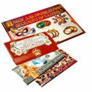 Праздничная полиграфия: приглашения конверты для денег плакаты гирлянды растяжки ростомеры наклейки значки. фото
