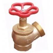 Вентиль пожарный ДУ-50 латунный угловой фото