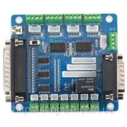 Интерфейсная плата ЧПУ LPT на 5 осей разъем под информационный дисплей 1 реле фото