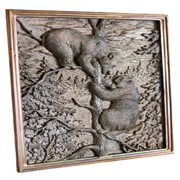 Художественное бронзовое литьё- барельефы фото