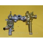 Газоводянной узел взборе газовой колонки NEVA LUX 4510-4511 фото