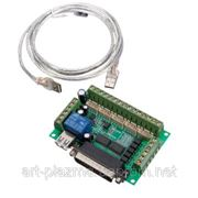 Интерфейсная плата с опторазвязкой на 5 осей BL-MACH-V1.1 фото