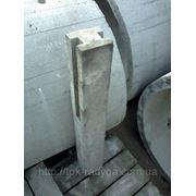 Столбик заборный гладкий (1пл. 0,5м) дл=1,1метра фото