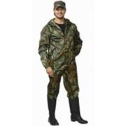 Костюм Турист (куртка, брюки) (ткань Оксфорд) КМФ зелёный фото