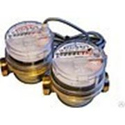 Счетчики воды СХи и СГи с импульсным выходом (латунный корпус, Ду 15) фото