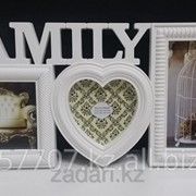 Фоторамка Family на 3 фотографии фото