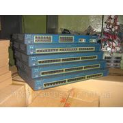 Коммутатор Cisco WS-C2950G-24-EI (24 10/100 ports and two fixed GBIC-based 1000BASE-X uplink ports)