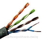 Сетевой кабель utp5e 4х2х0.5