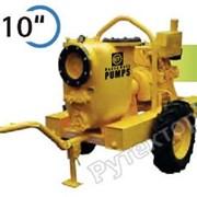 Передвижная дизельная мотопомпа JD 10-305 G10 SVM21 TRAILE Varisco для сильнозагрязненных вод до 1400 м3/час фото