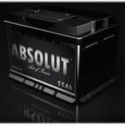 Аккумулятор ABSOLUT 55 A/ч фото
