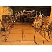 Каркасы теплицы «Поморочка» под поликарбонат 4 метра фото