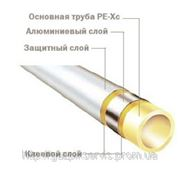 Труба многослойная РЕ-Хс-AL-РЕ (95°С) 32/4.0мм фото