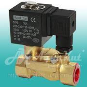 """Соленоидный электромагнитный клапан 1/2"""" / 220v; DFD-15. фото"""