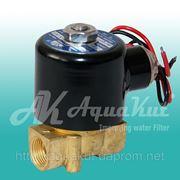 """Соленоидный электромагнитный клапан 3/8"""" / 24v; 2W-040-10. фото"""
