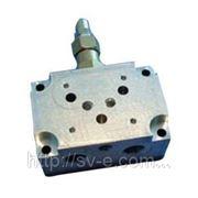 Плита монтажная с предохранительным клапаном VMP/80/CBE/E-12-34-14(ДУ10) фото