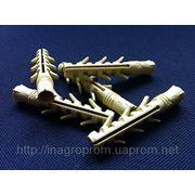 Дюбель ZUBR 10х60 mm усиленный,4 пары зубьев,удлинненная рабочая часть фото