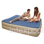 Двуспальная надувная кровать Pillow Rest Raised Bed INTEX 67714 фото