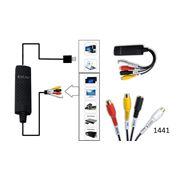 Устройство видеозахвата оцифровка домашнего видео видеонаблюдение на ноутбуке USB оцифровка купить USB оцифровка с доставкой. фото