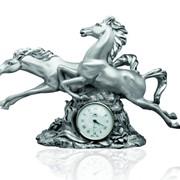 Часы Кони (большие) фото