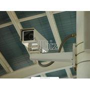 Оборудование объектов охраны средствами видеонаблюдения и сигнализации фото