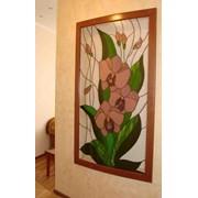 Витражи тиффани Орхидеи фото