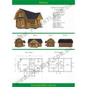 Деревянный дом до 10682 м2 Эльзар 107 фото